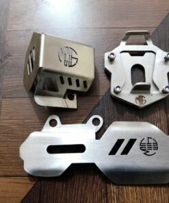 Brake M.C. and brake oil protection stand extend S.steel for Himalayan 411 cc